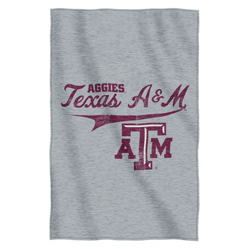 The Northwest Company Texas A&M University Sweatshirt Throw