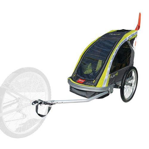Allen Sports 2-Child Aluminum Bike Trailer/Jogger - view number 2