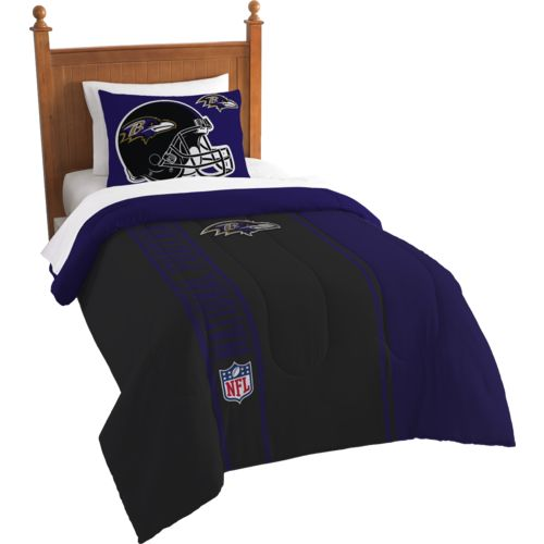 The Northwest Company Baltimore Ravens Twin Comforter and Sham Set