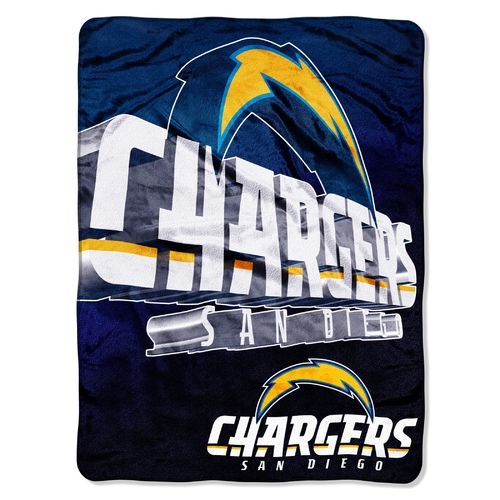 The Northwest Company San Diego Chargers Bevel Micro Raschel Throw
