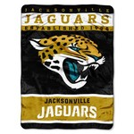 The Northwest Company Jacksonville Jaguars 12th Man Raschel Throw