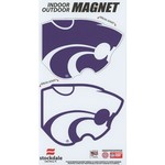 Stockdale Kansas State University Logo Magnets 2-Pack