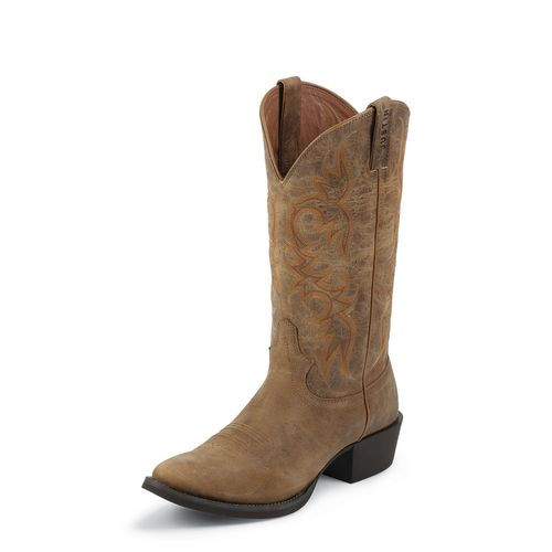 Justin Men's Puma Cow Stampede Western Boots
