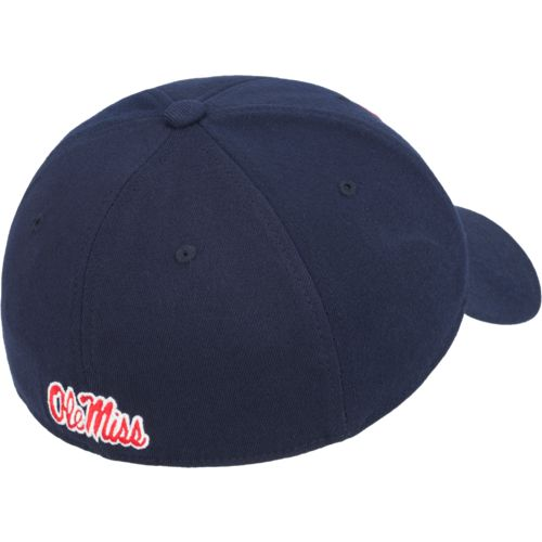 Top of the World Adults' University of Mississippi 1Fit™ Cap - view number 2