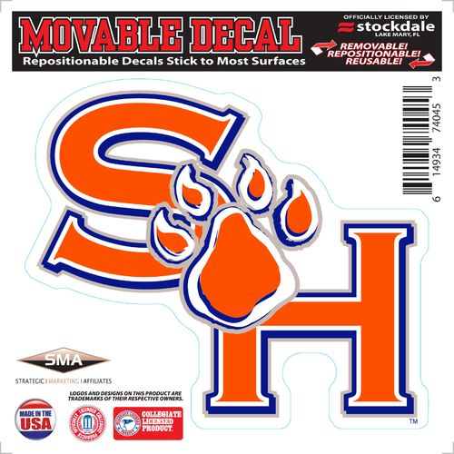 "Stockdale Sam Houston State University 6"" x 6"" Decal"