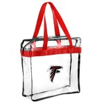Team Beans Atlanta Falcons Clear Messenger Bag - view number 1