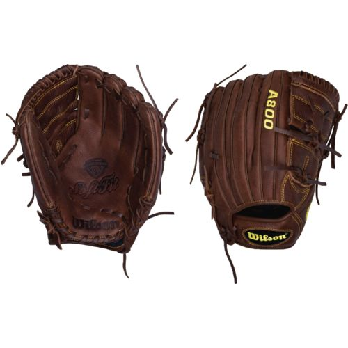 "Wilson Adults' A800 Game-Ready 12"" Baseball Glove"