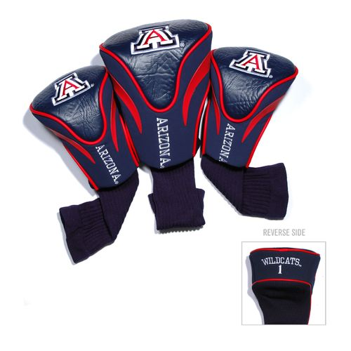 Team Golf University of Arizona Contour Sock Head Covers 3-Pack