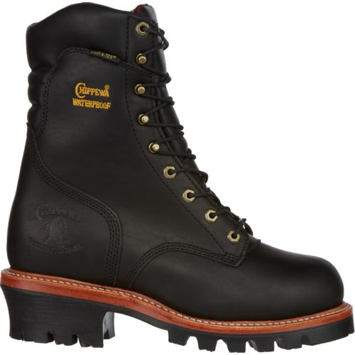 Chippewa Boots® Men's Oiled Logger Steel Toe Rugged Outdoor Boots
