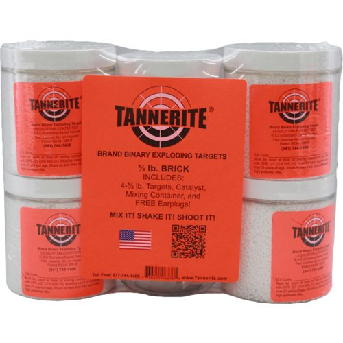 Tannerite® 1/2 lb. Brick Binary Targets 4-Pack