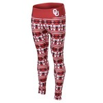 NCAA Women's University of Oklahoma Aztec Print Legging