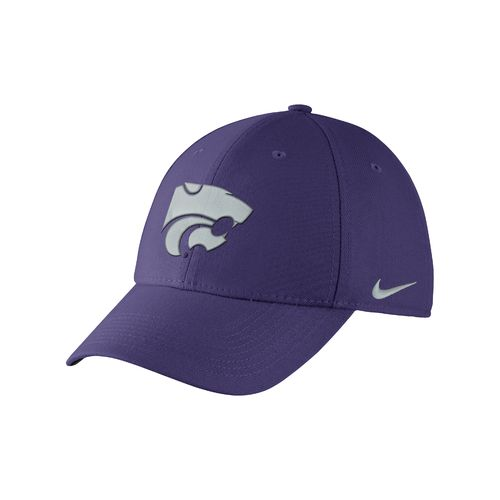 Nike Adults' Kansas State University Swoosh Flex Cap
