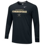 Nike Men's Vanderbilt University Core Long Sleeve T-shirt
