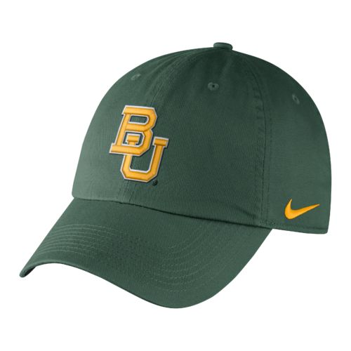 Nike™ Men's Baylor University Dri-FIT Heritage86 Authentic Cap