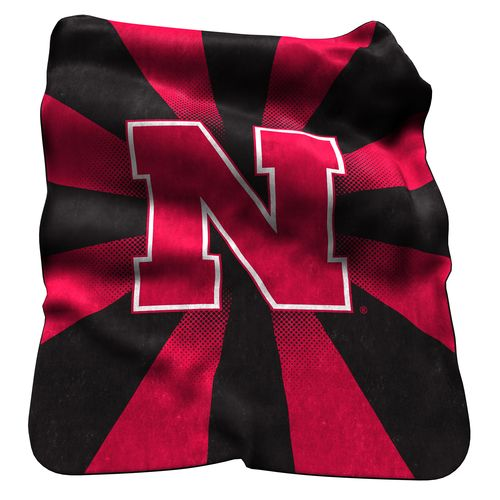 Logo™ University of Nebraska Raschel Throw