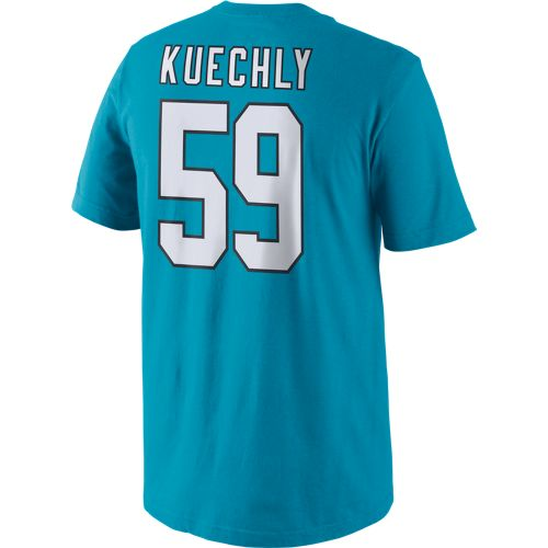 Display product reviews for Nike Men's Carolina Panthers Luke Kuechly 59 Player Pride T-shirt