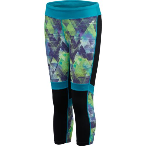 BCG™ Girls' Training Printed Panel Capri Pant