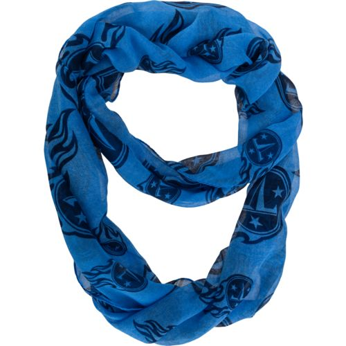 Forever Collectibles™ Women's Tennessee Titans Team Logo Infinity Scarf