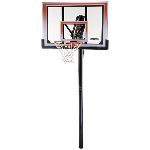"Lifetime 50"" Shatterproof Makrolon® Inground Basketball Hoop"