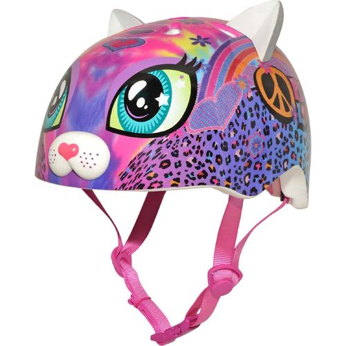 Raskullz Youth Peace Love Kitty Helmet