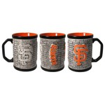 Boelter Brands San Francisco Giants Stone Wall 15 oz. Coffee Mugs 2-Pack