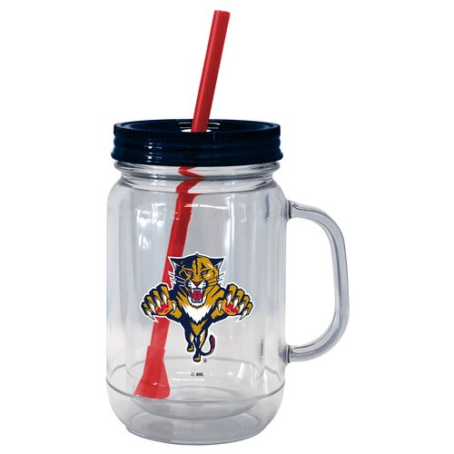 Boelter Brands Florida Panthers 20 oz. Handled Straw Tumblers 2-Pack
