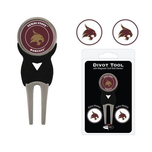 Team Golf Texas State University Divot Tool Set