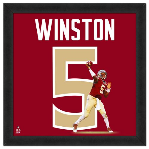 Photo File Florida State University Jameis Winston UniFrame