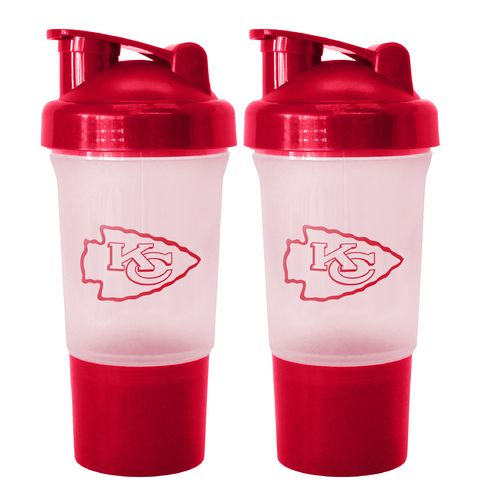 Boelter Brands Kansas City Chiefs 16 oz. Protein Shakers 2-Pack