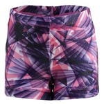Capezio® Girls' Future Star Warp Speed Allover Print Gymnastics Bike Short