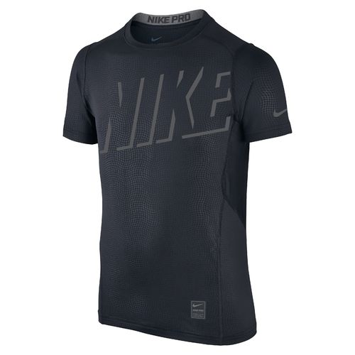 Nike Boys' Hypercool Fitted Short Sleeve Top