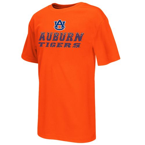 Colosseum Athletics™ Boys' Auburn University Pixel Short Sleeve