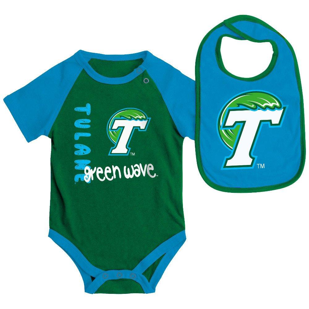Colosseum Athletics Infants' Tulane University Rookie Onesie and