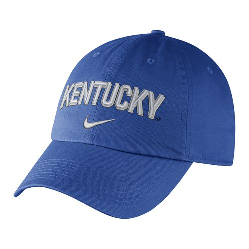 Nike Men's University of Kentucky Heritage86 Wordmark Swoosh Flex Cap
