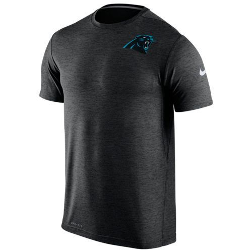 Nike Men's Carolina Panthers Dri-FIT Short Sleeve T-shirt