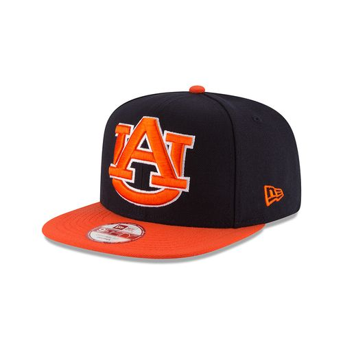New Era Men's Auburn University Logo Grand Redux 9FIFTY Snapback Cap