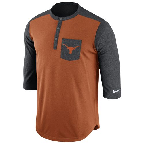Nike Men's University of Texas Dri-FIT Touch Henley
