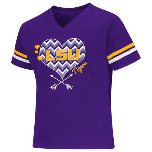 Colosseum Athletics Girls' Louisiana State University Football