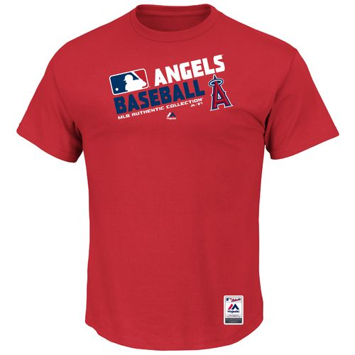 Majestic Men's Los Angeles Angels On Field Team Choice T-shirt