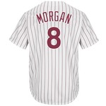 Majestic Men's Philadelphia Phillies Joe Morgan #8 Cooperstown Cool Base 1980 Replica Jersey