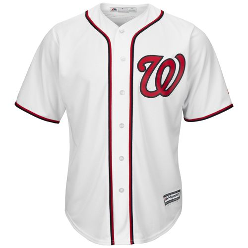 Majestic Men's Washington Nationals Michael Taylor #3 Cool Base Replica Jersey - view number 2