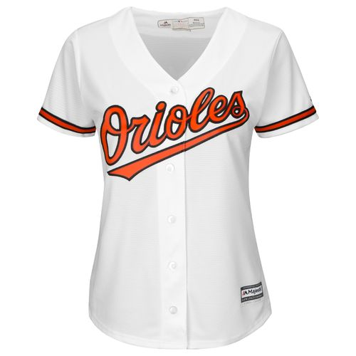 Majestic Women's Baltimore Orioles Manny Machado #13 Cool Base Replica Home Jersey - view number 2