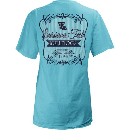 Three Squared Juniors' Louisiana Tech University Flora T-shirt