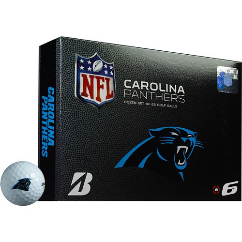 Bridgestone Golf Carolina Panthers e6 Golf Balls 12-Pack