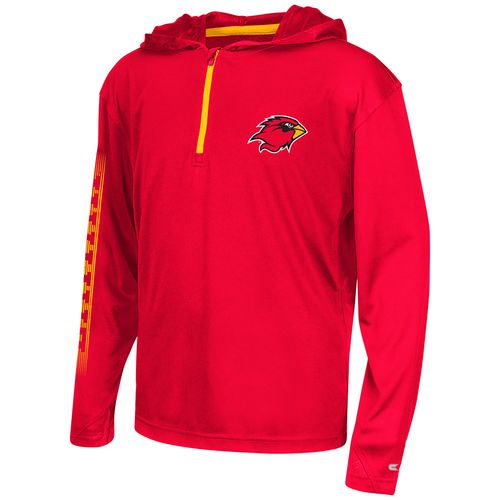 Colosseum Athletics™ Boys' Lamar University Sleet 1/4 Zip Hoodie Windshirt