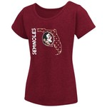 Colosseum Athletics Girls' Florida State University T-shirt