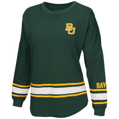 Colosseum Athletics™ Women's Baylor University All Around Oversize Long Sleeve T-shirt