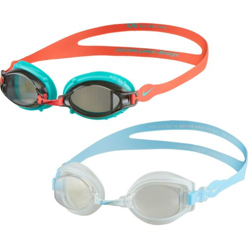 Nike Juniors' Chrome/Challenger Goggles Set