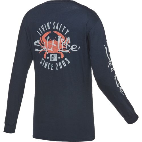 Salt Life™ Men's Salty Crab Long Sleeve T-shirt
