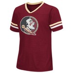 Colosseum Athletics™ Girls' Florida State University Titanium T-shirt
